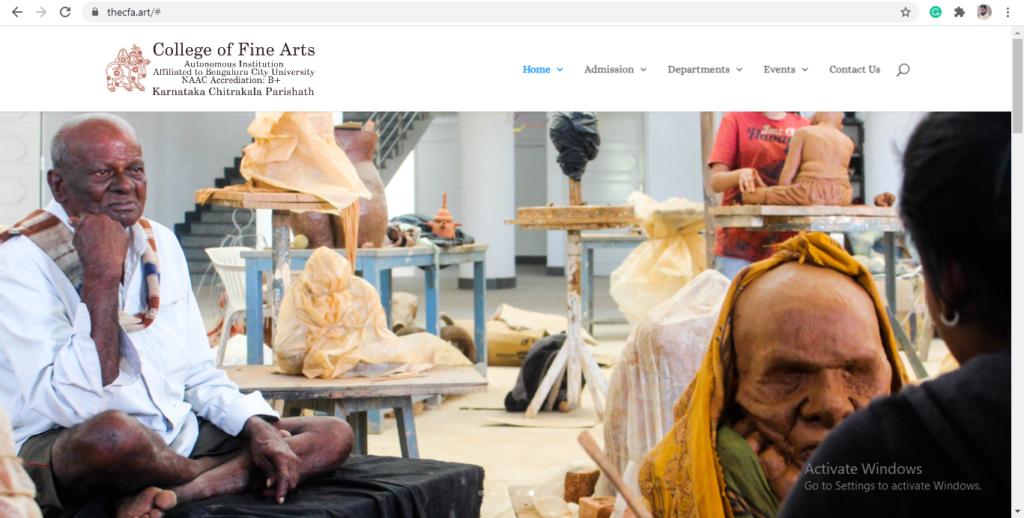 college of fine art bengalore